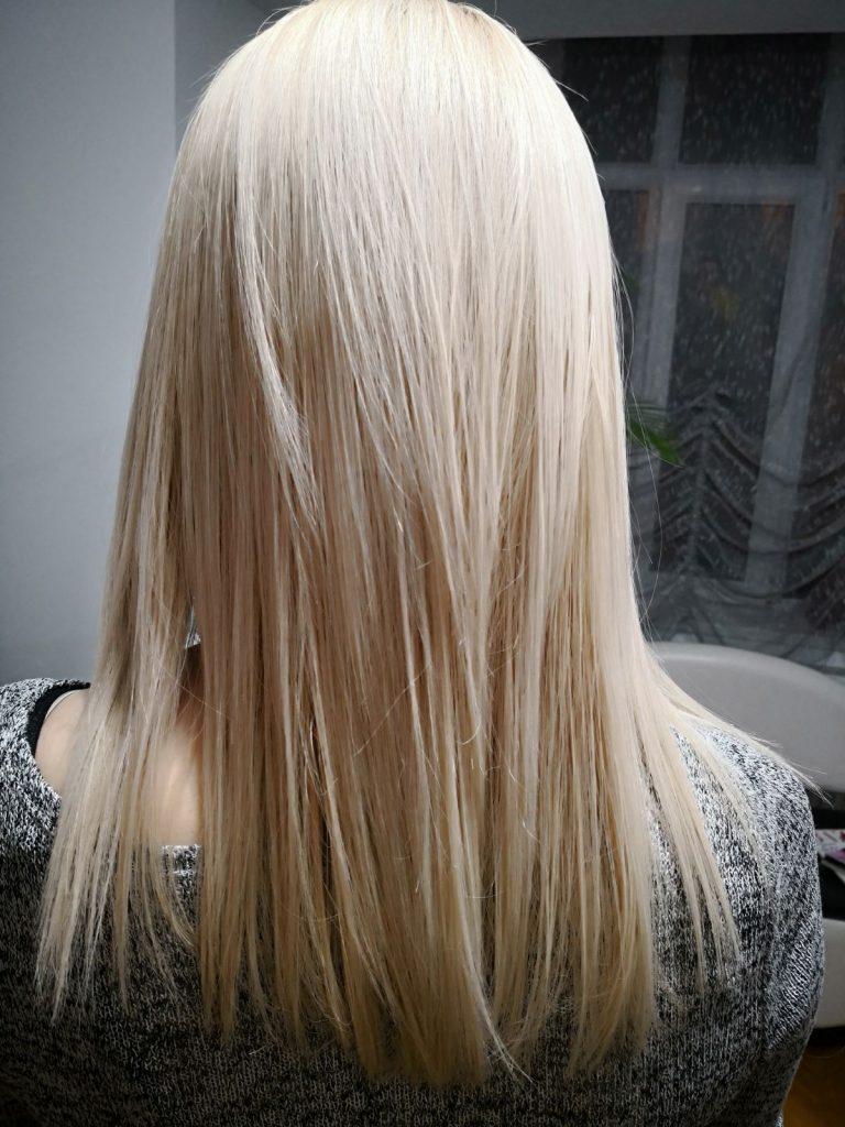 blond hair ksister's salon