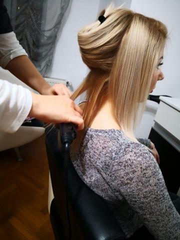 blonde hairstyle ksister's salon